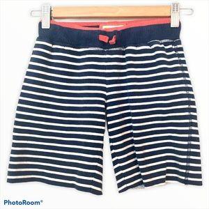 Mini Boden sweat shorts striped comfy play wear